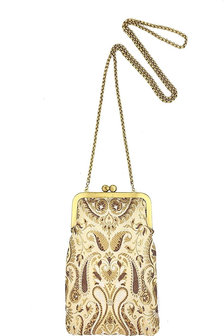 Gold Mini Clutch Sling Bag by That Gypsy
