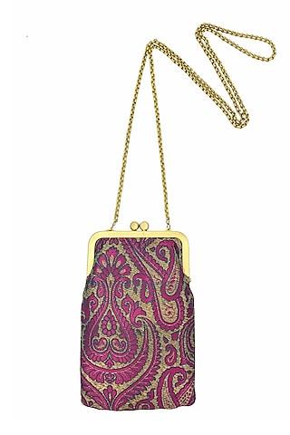 Winish Pink Mini Clutch Sling Bag by That Gypsy