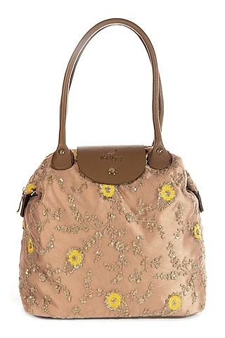 Rose Gold Embroidered Bag by That Gypsy