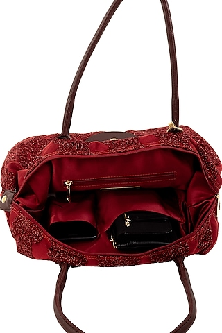 Red Bag With Sparkles by THAT GYPSY