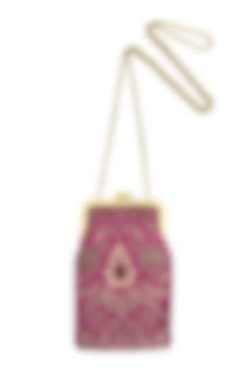 Pink Mini Clutch Sling Bag by That Gypsy