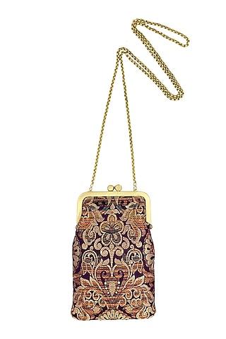 Purple Mini Clutch Sling Bag by That Gypsy