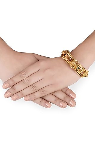 Gold Plated Bangle by Tribe Amrapali