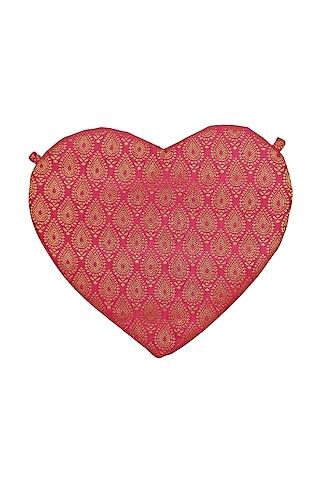 Pink & Gold Brocade Sling Bag by Tarini Nirula