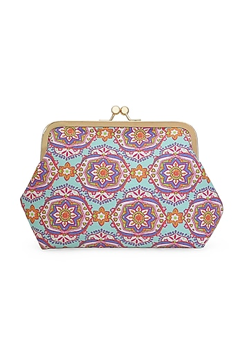 Multi Colored Printed Sling Bag by Tarini Nirula