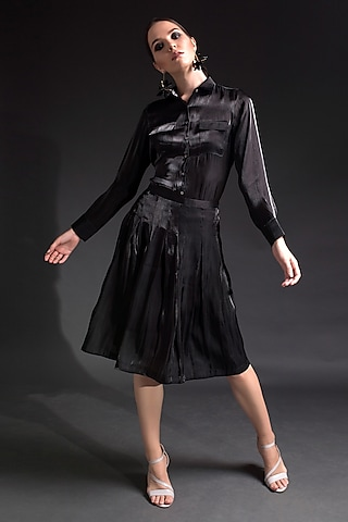 Black Box Pleated Skirt by Tara And I
