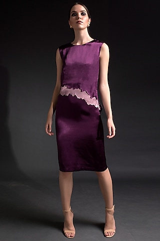 Purple Wave Dress by Tara And I