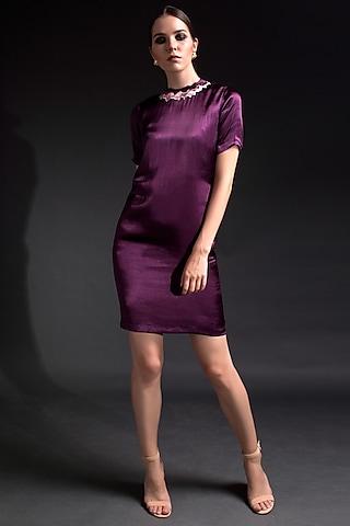 Purple Collared Dress by Tara And I