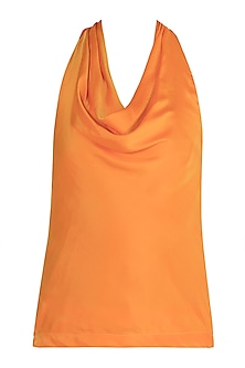 Pale Orange Halter Top by Tara and I