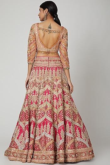 Pink Lehenga Set by Tarun Tahiliani
