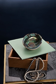 Wood Abalone Utility Box by Tessera Home