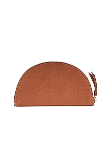 Rust Cross Body Clutch by The House of Ganges
