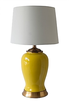 Yellow Canary Table Lamp by Theos