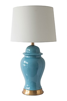 Blue Designer Table Lamp by Theos