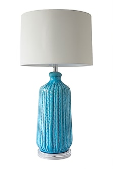 Aquamarine Blue Table Lamp by Theos