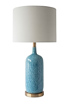 Turquoise Blue Table Lamp by Theos