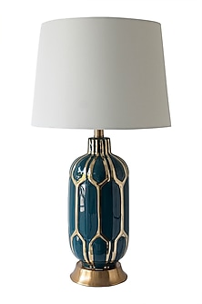 Teal Green Table Lamp by Theos