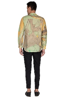 Multi Colored Natural Printed Shirt by The Natty Garb