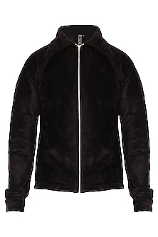 Black Embroidered Jacket by The Natty Garb