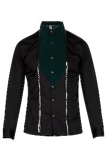 Black Velvet Shirt by The Natty Garb
