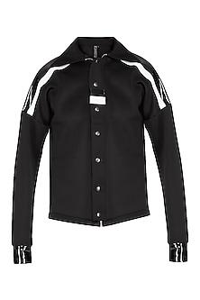 Black Boxy Fit Jacket by The Natty Garb