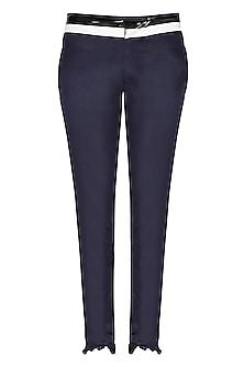 Dark Blue Trouser Pants by The Natty Garb