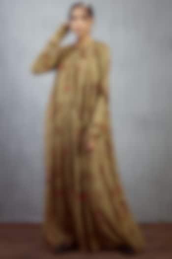Multi Colored Maxi Dress by TORANI