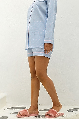 Blue Striped Short by The Pink Elephant