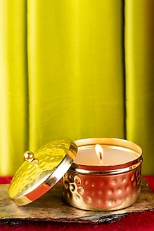 Gold Hammer Scented Candle (Small Jar) by The Pitara Project