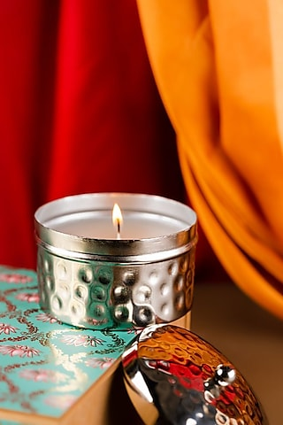 Silver Hammer Scented Candle (Small Jar) by The Pitara Project