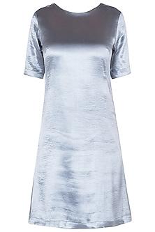 Electric Grey Shift Dress by Tara and I