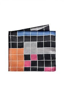 Multi Colored Printed Pocket Square by Trosta