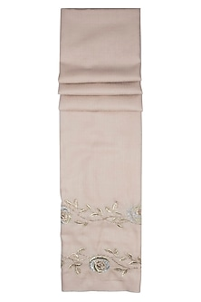Nude badla rose bel scarf by The Scarf Story