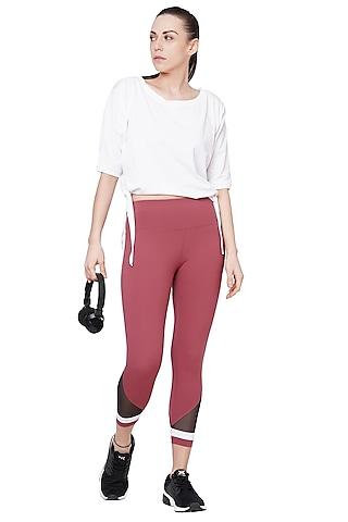 Pink Capri Pants by Tuna London