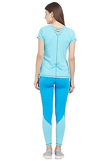 Turquoise Pullover With Pants by Tuna London
