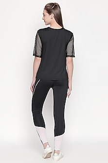 Black Pullover With Pants by Tuna London