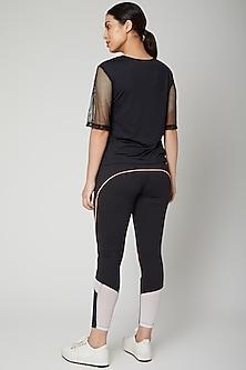 Black Polyester Blend Tracksuit by Tuna London