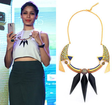Black Rock Necklace by Manish Arora for Amrapali