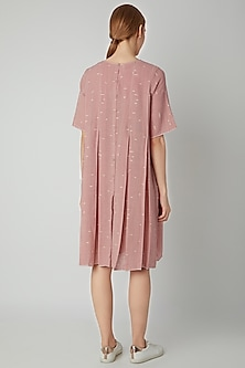 Blush Pink Organic Cotton Dress by Urvashi Kaur