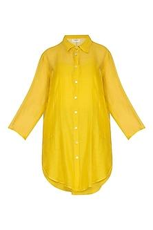 Yellow Tunic With Slip by Urvashi Kaur
