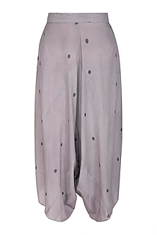 Grey Dhoti Pants by Urvashi Kaur