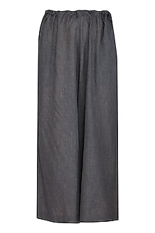 Black Lounge Pants by Urvashi Kaur