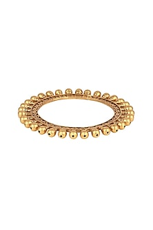 Gold Finish Bali Pacheli Bangle by VASTRAA Jewellery