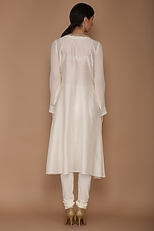 Ivory Tunic With Pants by Varun Bahl