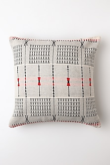 White Spear Cushion Cover by Vekuvolu Dozo-Shop By Style