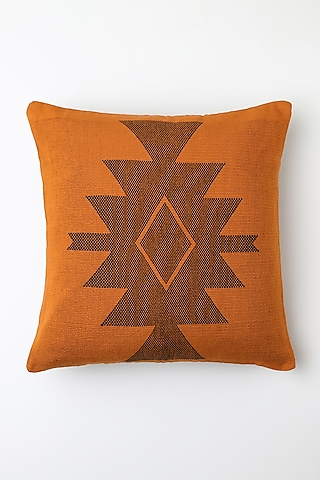 Orange Jupu Cushion Cover by Vekuvolu Dozo