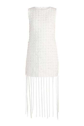 Off White Textured Dress by Vidhi Wadhwani