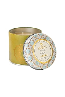 Multi Colored French Vermeil Mason Tin Scented Candle by VEEDAA