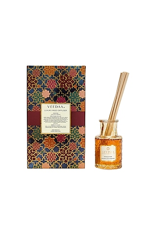 Multi Colored Himalayan Magnolia & Santal Classic Reed Diffuser by VEEDAA