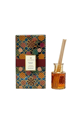 Multi Colored Midnight Jasmine Classic Reed Diffuser by VEEDAA